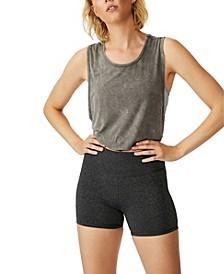 Women's Highwaisted Shortie Short