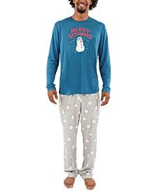 Matching Men's Holiday Merry Sithmas Family Pajama Set