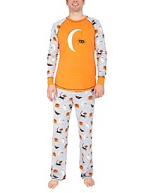 Matching Men's Spooky Sketchy Halloween Family Pajama Set