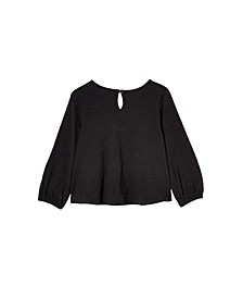 Big Girls Juliette Long Sleeve Top
