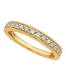 Certified Diamond Pave Band 1/4 ct. t.w. in 14k White or Yellow Gold