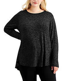 Plus Size Long-Sleeve Tunic