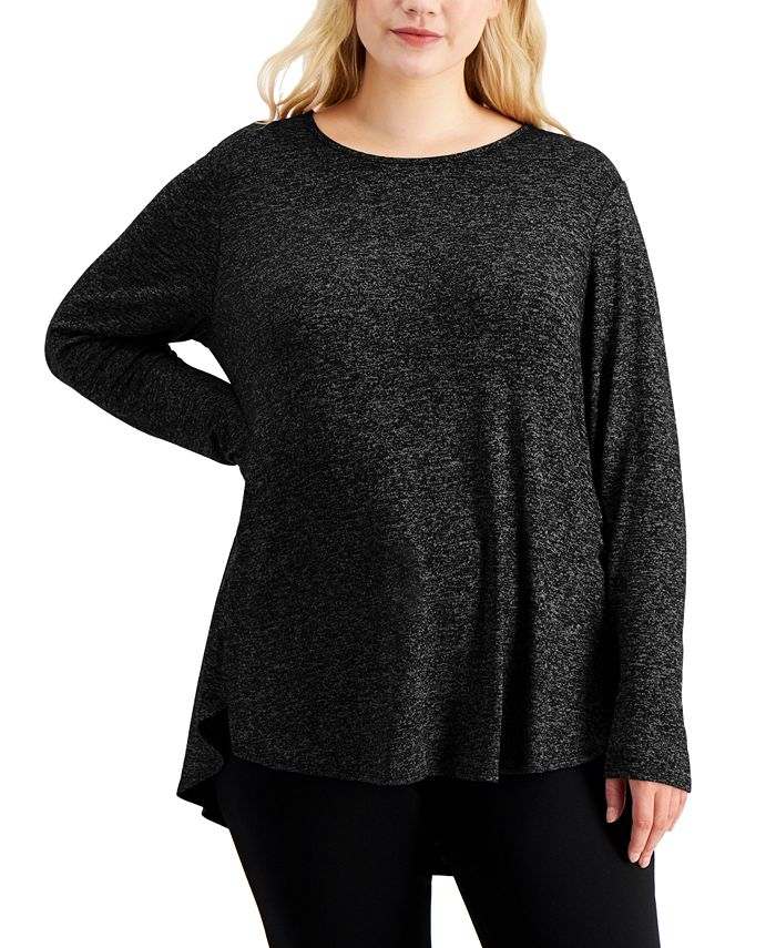 Calvin Klein - Plus Size Long-Sleeve Tunic