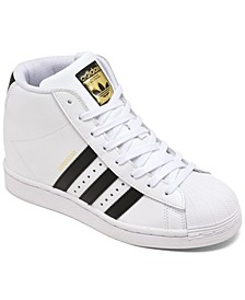 Originals Women's Superstar Up High Top Platform Casual Sneakers from Finish Line