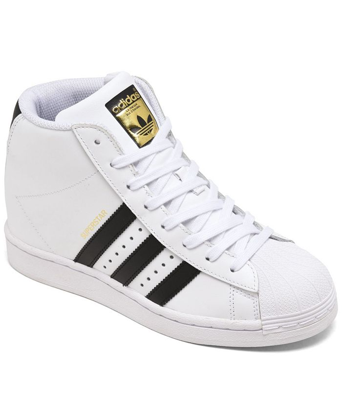 adidas Originals Women's Superstar Up High Top Platform Casual Sneakers from Finish Line