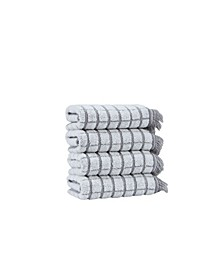 Retro Antique Collection Hand Towels 4-Pack