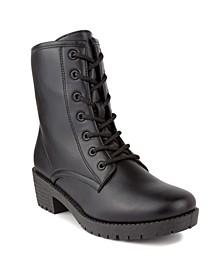 Women's Kam Lace-Up Combat Boots