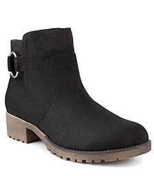 Women's Crossing Lug-Sole Ankle Booties