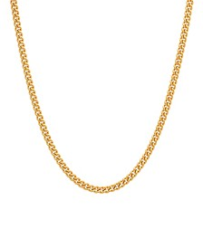Men's Curb Link Chain Necklace in Stainless Steel