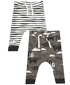 Earth Organic Baby Boy 2-Piece Jeffery Pant Set