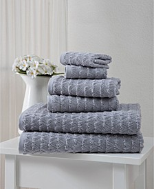 Azure Collection Towel Sets 6-Pack