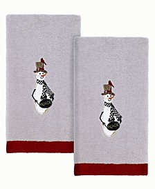 Country Friends Fingertip Towels, 2 Piece