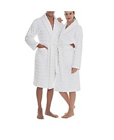 Esperance Unisex Bathrobes Collection Terry Cloth Bathrobe