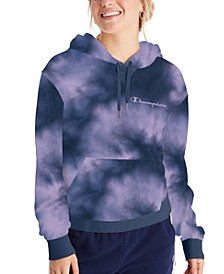 Women's Campus Tie-Dyed French Terry Hoodie
