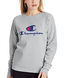 Women's Powerblend Logo Graphic Sweatshirt