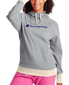 Women's Cotton Powerblend Logo Hoodie