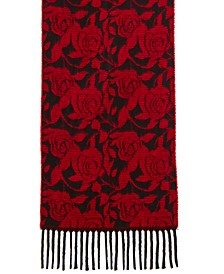Mid Weight Rose Muffler Scarf