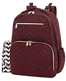 Signature Quilt Diaper Backpack