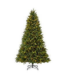 Sun Valley Fir Artificial Christmas Tree with 450 LED Lights