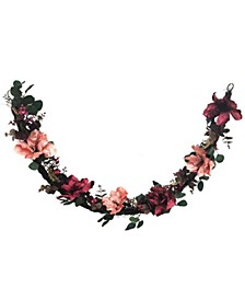 Martha Stewart Blush Eucalyptus Garland, Created for Macys