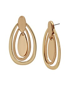 Oval Orbital Earrings