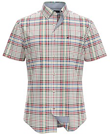 Men's Crosbie Custom-Fit Plaid Shirt