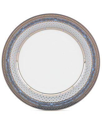 Gorham Dinnerware, Chancellor Blue Salad Plate - Fine China - Macy\'s