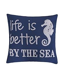 """Vero Life is Better Pillow, 14"""" x 18"""""""