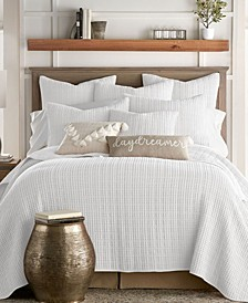 Mills Waffle Quilt Set, Twin