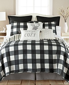 Camden Plaid Reversible Twin Quilt Set