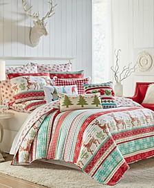 Let it Snow Quilt and Sham Collection
