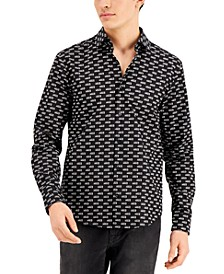 Men's Ermo Exclusive Printed Cotton Shirt