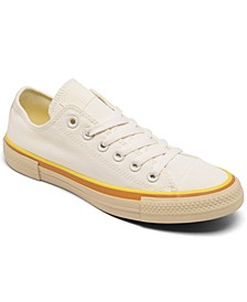 Women's Chuck Taylor All Star Popped Color Low Top Casual Sneakers from Finish Line