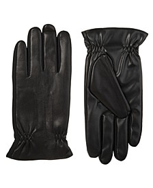 Men's Sleekheat Faux Nappa Touchscreen Gloves