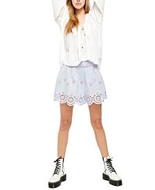 Elena Eyelet Shorts