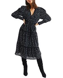 Women's Meadow Print Maxi Dress