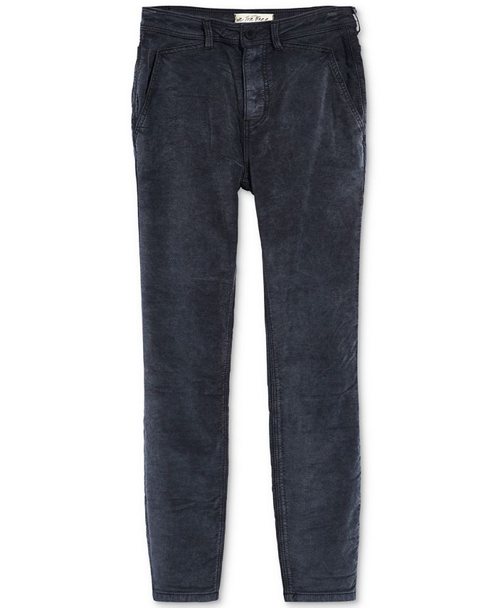 Free People - Fine Line Straight Crop Jeans