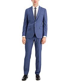 HUGO Men's Modern Fit Navy Suit Jacket & Pants