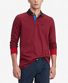 Men's Brewster Custom-Fit Stripe Polo Shirt