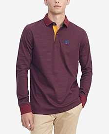 Men's TH Luxe Brewster Custom-Fit Stripe Polo Shirt