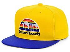 Denver Nuggets 2 Tone Classic Snapback Cap