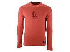 St. Louis Cardinals Men's Silitone Long Sleeve Raglan T-Shirt