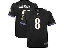 Youth Baltimore Ravens Lamar Jackson Game Jersey
