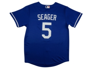 Nike Youth Los Angeles Dodgers Corey Seager Official Player Jersey