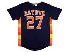 Youth Houston Astros Jose Altuve Official Player Jersey