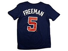 Atlanta Braves Youth Name and Number Player T-Shirt Freddie Freeman