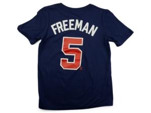 Nike Atlanta Braves Youth Name and Number Player T-Shirt Freddie Freeman