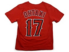 Los Angeles Angels Youth Name and Number Player T-Shirt Shohei Ohtani