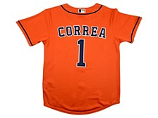 Youth Houston Astros Carlos Correa Official Player Jersey
