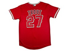 Youth Los Angeles Angels Mike Trout Official Player Jersey
